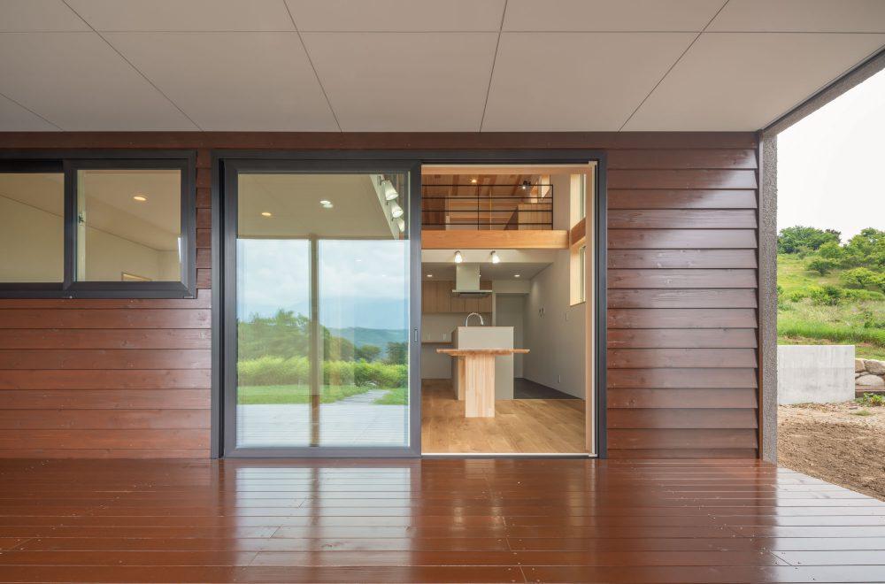 傾斜地に建つ眺望の家イメージ20