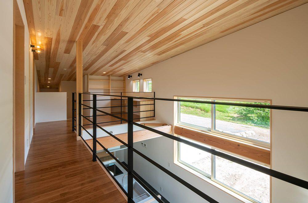 傾斜地に建つ眺望の家イメージ18