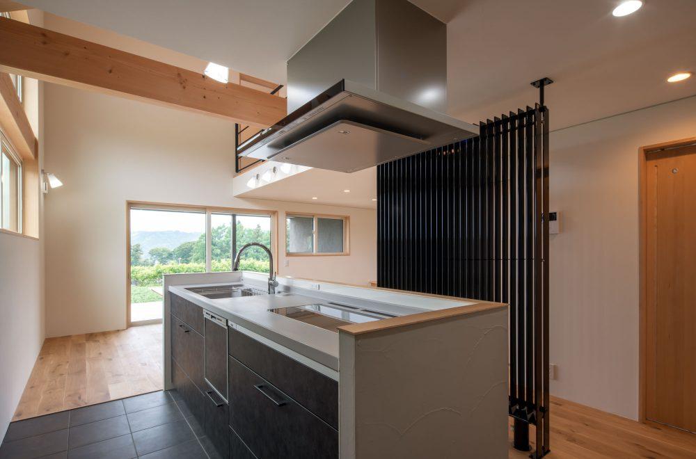 傾斜地に建つ眺望の家イメージ11