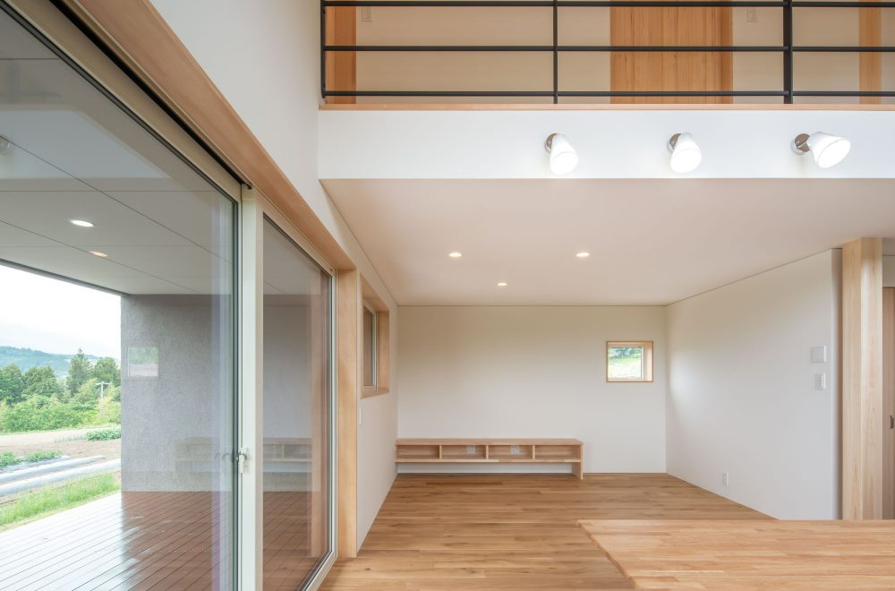 傾斜地に建つ眺望の家イメージ07