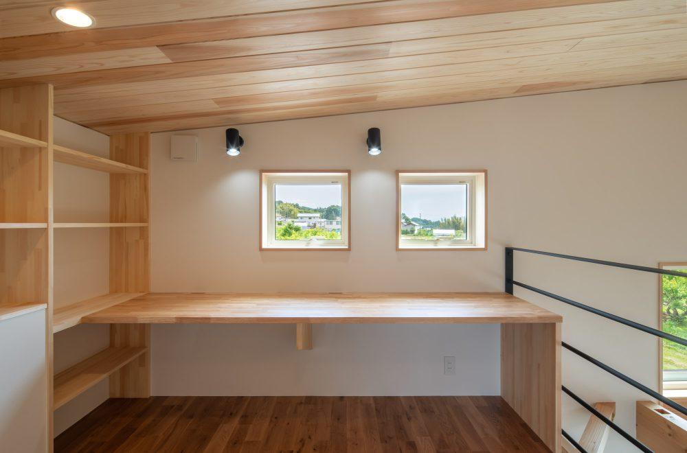傾斜地に建つ眺望の家イメージ16